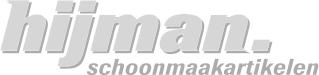 * Vlakmop Numatic Microvezel 40cm velcro blauw wit