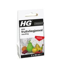 Fruitvliegjesval vloeistof HG navulling 2 x 20 ml