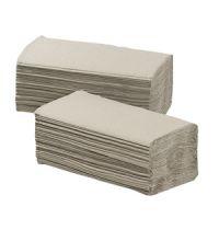 Handdoekpapier Vendor 1454 Z-vouw crepe naturel 1-laags 25 x 23 cm