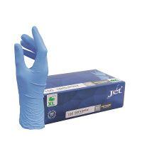 Handschoen Jet+ nitril blauw maat XL