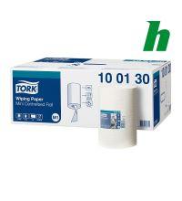 Handdoekrol Tork C-feed Mini 120 meter x 21,5 cm 1-laags wit M1