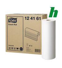 Onderzoekstafelpapier Tork Couchroll breedte 38,5 cm C1 wit