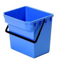 * Emmer Numatic 15 liter blauw t.b.v. werkwagen