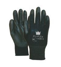 Handschoen PU-Flex zwart maat XL