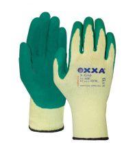 Handschoen Oxxa X-grip geel/groen 51-000 maat 10