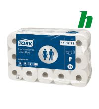 Toiletpapier Tork Conventional Roll 400 vel 2-laags wit T4