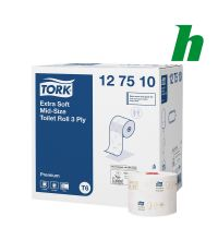 Toiletpapier Tork Extra Soft Mid-size 70 meter 3-lgs T6