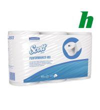 Toiletpapier Scott 2-laags 8517 tissue wit 600 vel