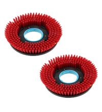 Borstelset I-Mop XL kit assy brush hard rood (L+R)