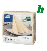 Servet Tork Dinner Napkin 1-laags 1/4 vouw Cream