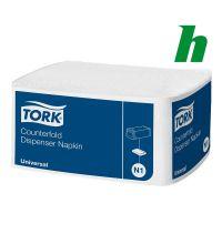 Servet Tork Counterfold 1-laags 31 x 32 cm N1 White
