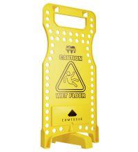 Waarschuwingsbord Comtesse geel
