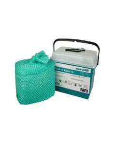 Reinigingsdoek in dispenser Wecoline Clean 'n Easy Hygienisch