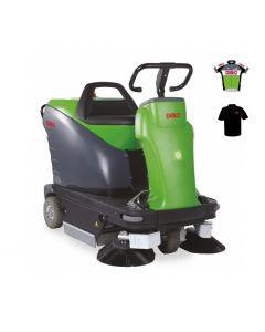 Veegmachine Dibo Sweeper 1050E *ACTIE*